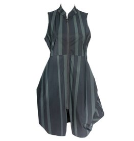 Porto Porto Tristan Dress Vest - Enzo Stripe