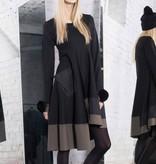 Xenia Xenia Black Dolf Woven Dress