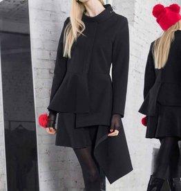Xenia Xenia Black Aela Woven Jacket