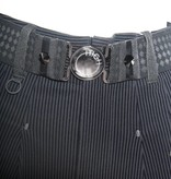 HIGH HIGH Hasten Pants - Black Pinstripe