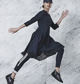 HIGH HIGH Praise Long Sleeve Dress - Black Pinstripe