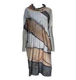 Crea Concept Crea Concept Granite Print Dress - Multi