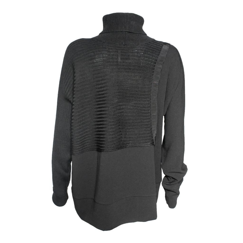 Crea Concept Crea Concept Dolman Sleeve Sweater - Black