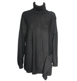 Crea Concept Crea Concept Sweater Tunic - Black