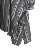 Matthildur Matthildur Tailor Stripe Dress - Charcoal