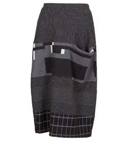 Alembika Alembika One Pocket Skirt - Blk/Grey