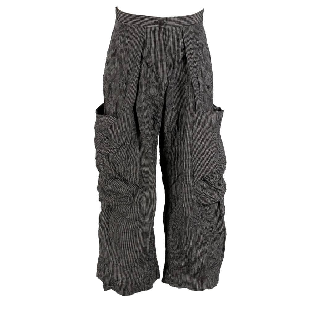 Alembika Alembika 2 Pocket Pants - Small Check