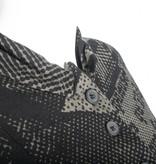 Studio Rundholz Studio Rundholz Print Button Front Jacket - Mocca
