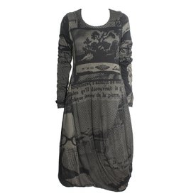 Studio Rundholz Studio Rundholz Print Dress - Mocca