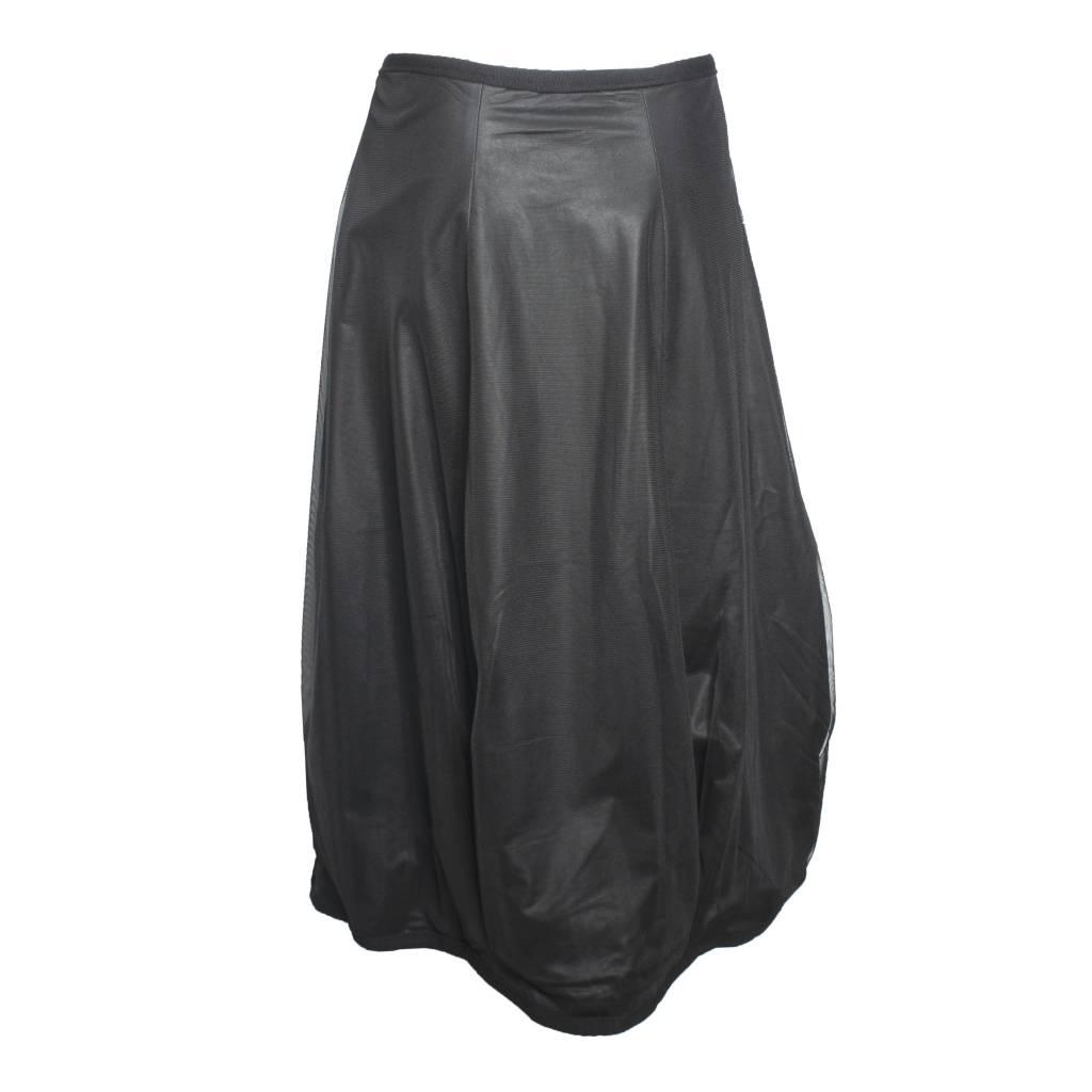 NY77 Design NY77 Design Mesh Zip Skirt - Black