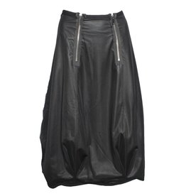 NY77 Design NY77 Design Mesh Zip Skirt - Black