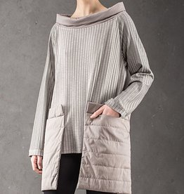 NY77 Design NY77 Design Long Sleeve Tunic - Taupe