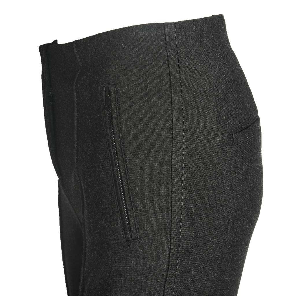 Cambio Cambio Ros Zip Pants - Soft Grey