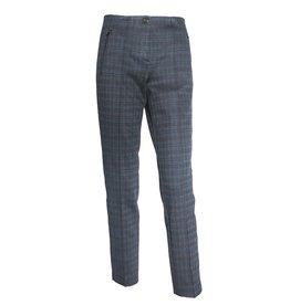 Cambio Cambio Ros Zip Pants - Black/Navy Print