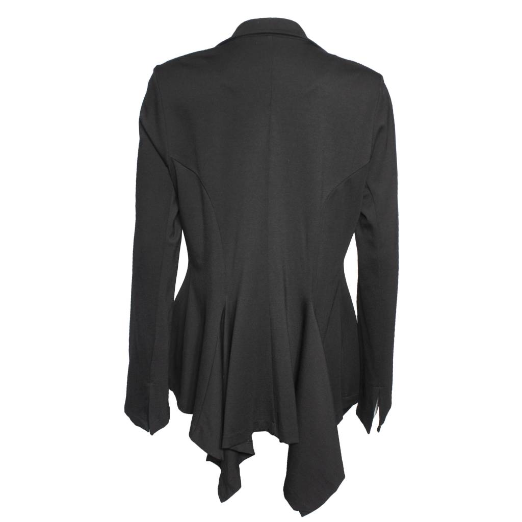 Alembika Alembika One Button Short Jacket - Black