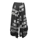 Alembika Alembika Bubble Graphic Pants - Blk/Grey