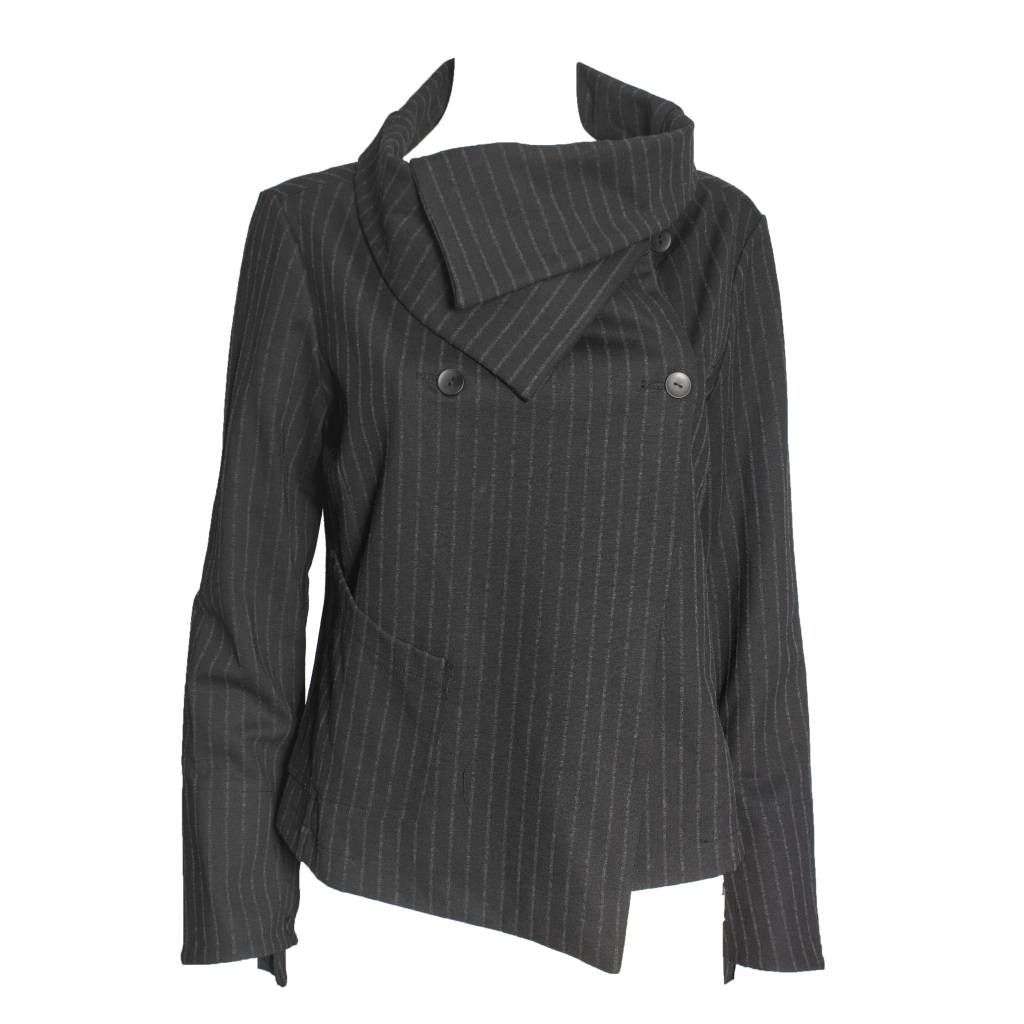 Porto Porto Windmill Jacket - Black Stripe
