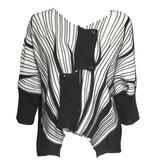 Crea Concept Crea Concept Crop Sweater - B/W