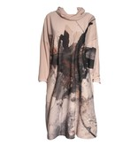 Crea Concept Crea Concept Abstract Dress - Peach