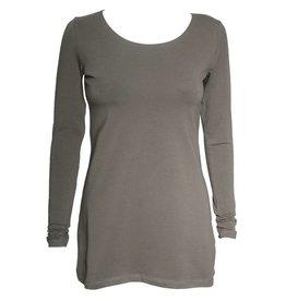 Crea Concept Crea Concept Knit Long Sleeve Top - Olive