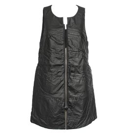 NY77 Design NY77 Design Zip Vest - Black