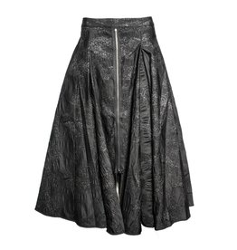 NY77 Design NY77 Design Starlight Zip Skirt - Black