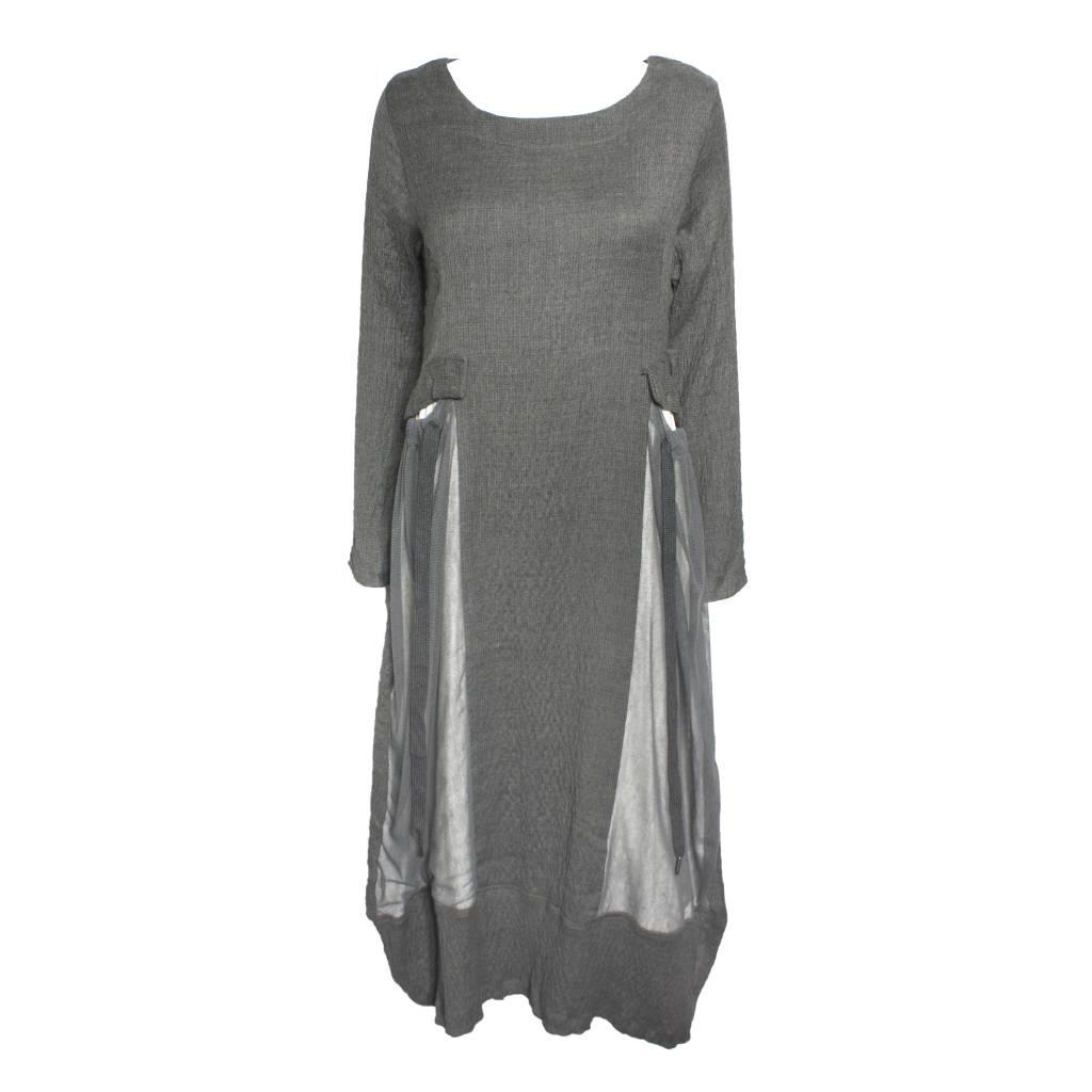 Gershon Bram Gershon Bram Luna Pocket Dress - Grey