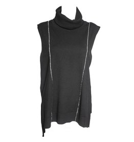 Banana Blue Banana Blue Sleeveless Pullover - Black