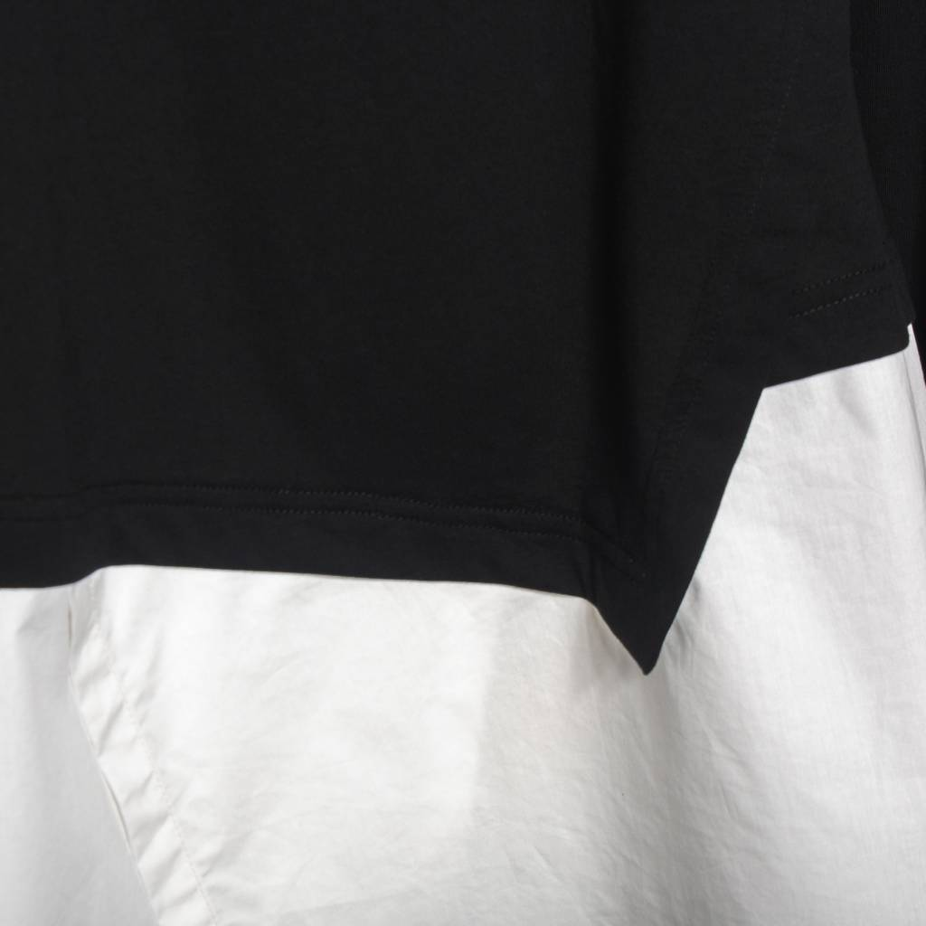 Moyuru Moyuru Long Sleeve Layer Shirt - Black