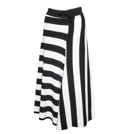 Banana Blue Banana Blue Wide Stripe Pants - Black/White