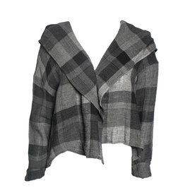 Kedziorek Kedziorek Plaid Jacket - Grey