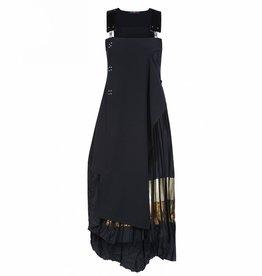 HIGH HIGH Amity Dress - Navy/Gold