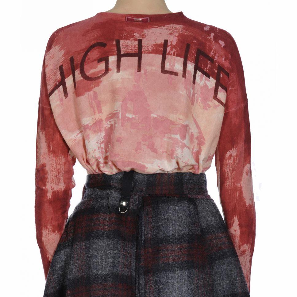 HIGH HIGH Painterly Sweater