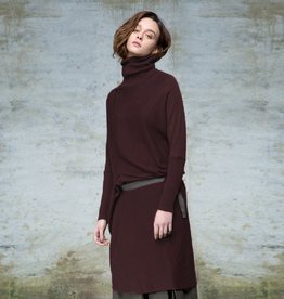 Colour 5 Power Colour 5 Power Knit Dress - Merlot
