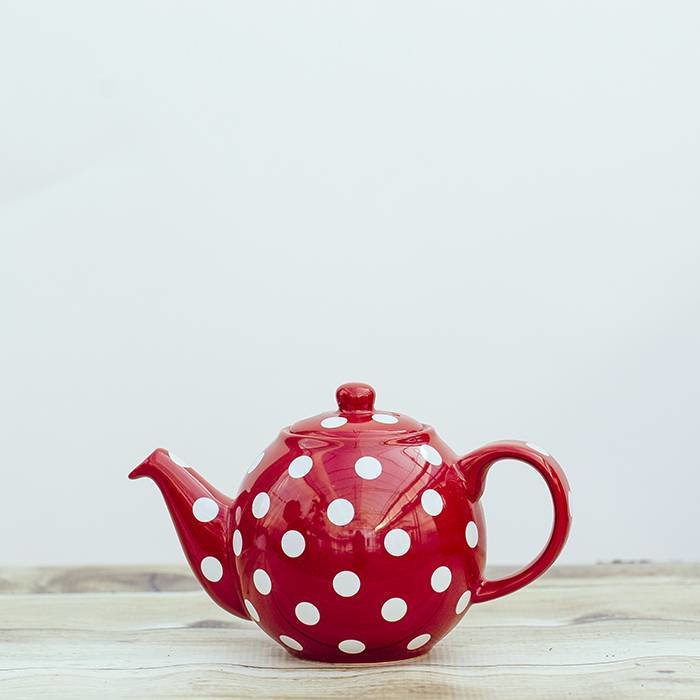 Red Dot Geo Teapot