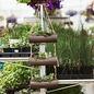 Hanging Succulent In Metal Log TRIPLE June 22