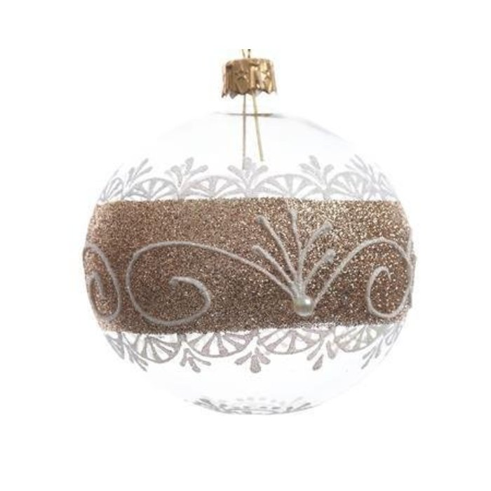 Bauble with Luxury Border 3""