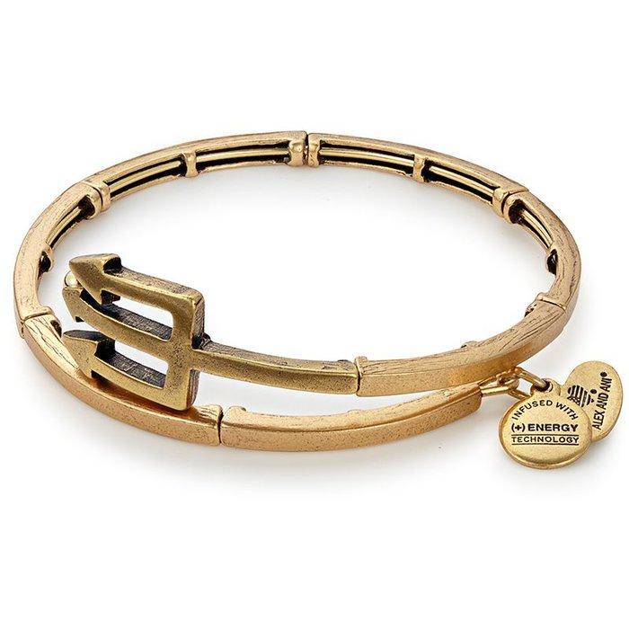 Trident Metal Wrap Rafaelian Gold