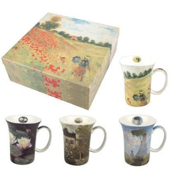 Monet Classics Set of 4 Mugs