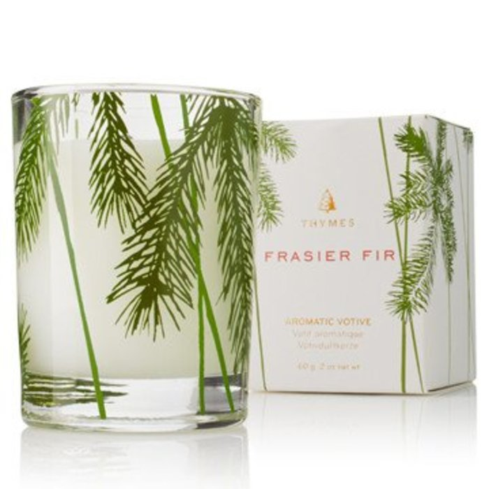 Votive Candle Pine Needle