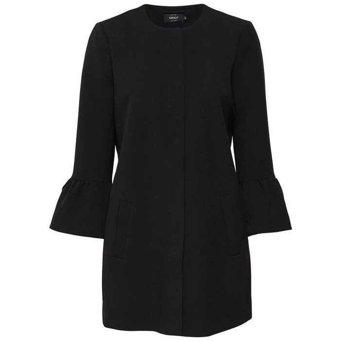 Chai Frill Sleeve Coat