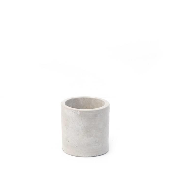 Grace Round Cement Vase