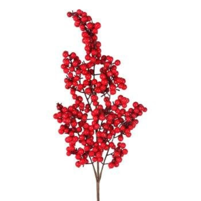 Waterproof Berry Cluster Spray 24""