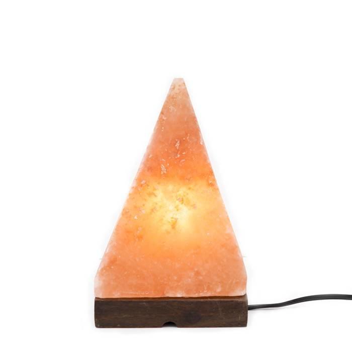 Himalayan Salt Lamp Pyramid Coral Pink
