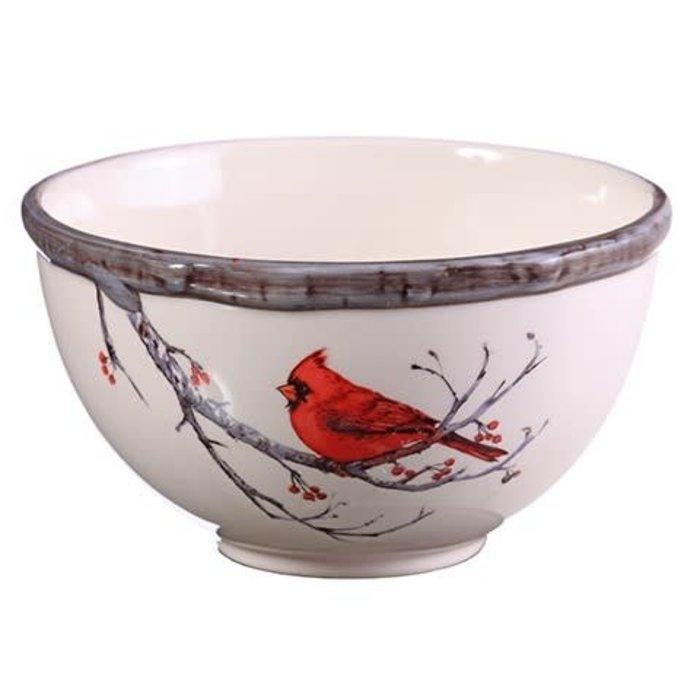 Cardinal Ceramic Bowl
