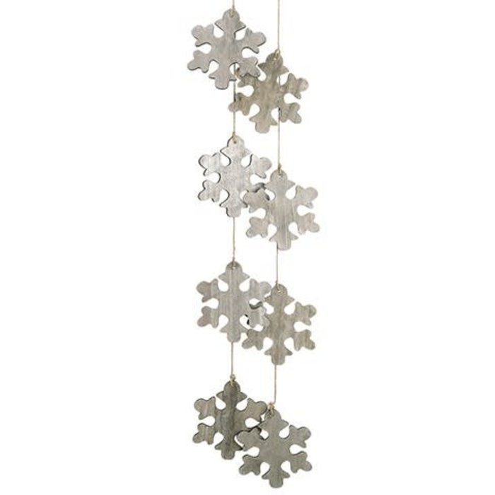 Snowflake Garland 6'