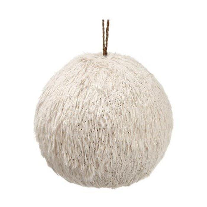 "Fur Ball Ornament 4.75"""