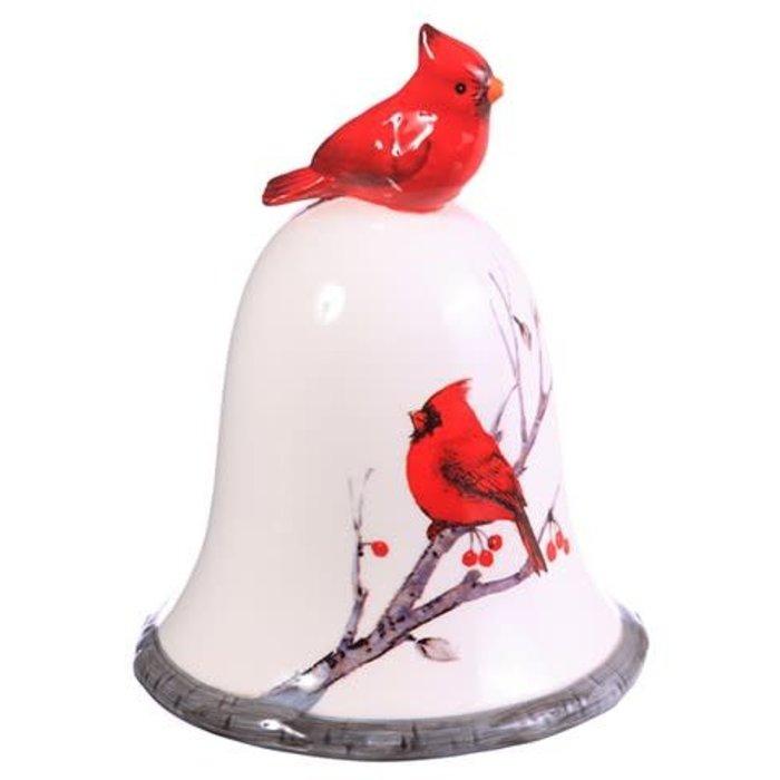 """Cardinal Ceramic Bell 5.5"""""""