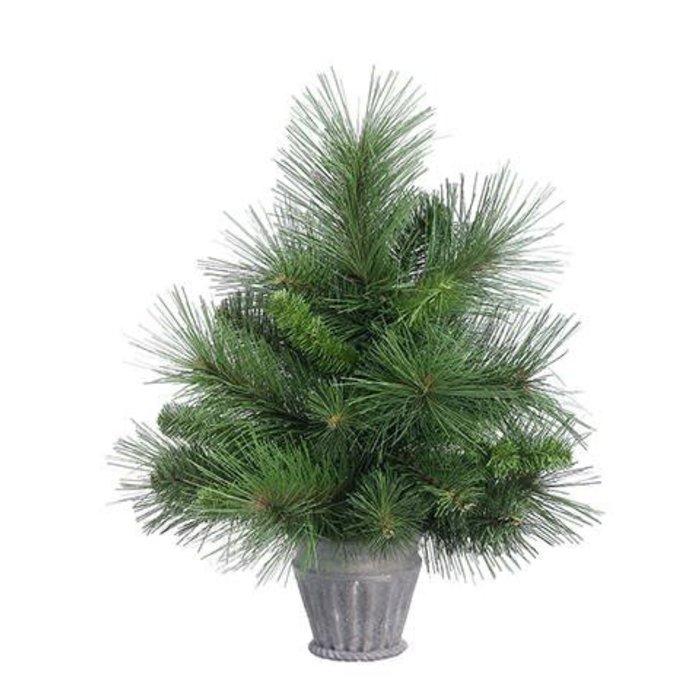 "Pine Tree in Paper Mache 15"""