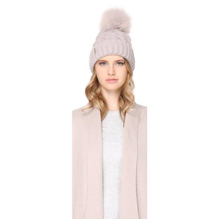 Amalie Knit Fur Toque